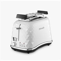 Delonghi CTJ2103 W FRONT Bianco Ekmek Kızartma Makinesi Beyaz