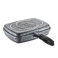 Remetta Granit Çift Taraflı Çok Amaçlı Balık Tavası 32 Cm