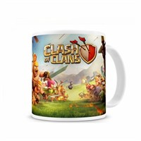 Baskistan Clash Of Clans Baskılı Kupa Bardak