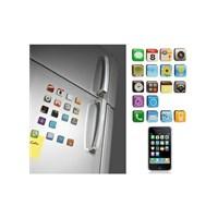 Hepsi Dahice Akıllı Telefon Buzdolabı Magnetleri 18'Li