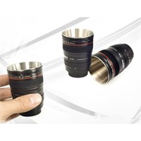 Biyax Lens Görünümlü 2 Adet Shot Bardağı