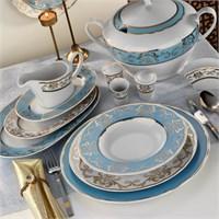 Kütahya Porselen İris 12 Kişilik 97 Parça 6914 Desen Yemek TakımI