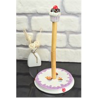 D-Sign Home Cup Cake Havluluk Lila