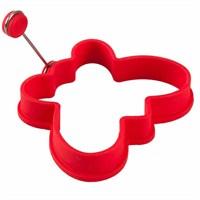 D-Sign Home Silikon Omlet Kelebek Krep Şekillendirici Kırmızı