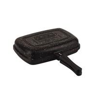 Tantitoni Granit Siyah Çift Taraflı Çok Amaçlı Izgara Tavası 34 Cm X 24 Cm