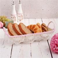 İhouse1068 Ekmek Sepeti Krem