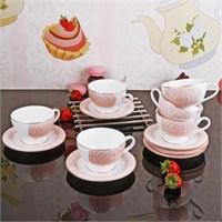 İhouse8410 Porselen Fincan Seti Beyaz