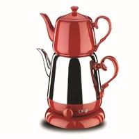 Korkmaz A 339-01 Nosta Elektrikli Çaydanlık Kırmızı