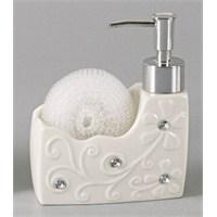 Cooker Porselen Taşlı Sıvı Sabunluk
