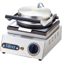 Silver Tekli Waffle Makinesi
