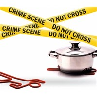 Gift Box Crime Scene Silikon Nihale