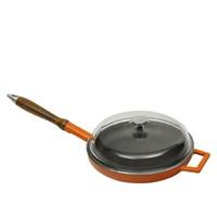 Lava Metal Lvytv24k33 Kat Emaye Kaplamalı Döküm Demir Kızartma Tavası