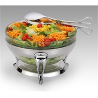 Mat Steel Salata Servis Setı