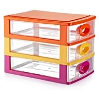 Home Design Çekmeceli Kutu No:2 - 3 Katlı