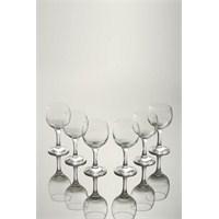 Paşabahçe Bıstro Ayaklı Kırmızı Şarap Bardağı 6.Lı