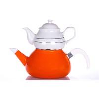 Evon Platin Çaydanlık - Turuncu
