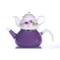 Evon Rosa Çaydanlık - Mürdüm