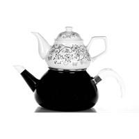 Evon Lale Çaydanlık - Siyah