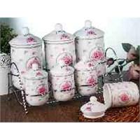 LoveQ 7 Li Porselen Baharatlık Seti