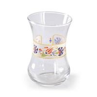 LoveQ 6'Lı Cam Çay Bardağı