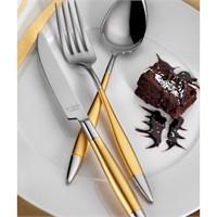 Aryıldız Elegant Prestige Altın 89 Parça Çatal Bıçak Takımı