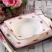 Aryıldız Prestige Porselen 70003 29 Parça Kare Yemek Takımı