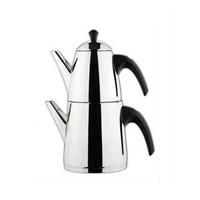 Aryıldız De Luxe Mini Siyah Çaydanlık
