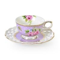 LoveQ 6'Lı Porselen Kahve Seti