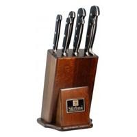 Sürmene Sürbısa Sıcak Dövme Çelik Mutfak Bıçak Seti 7 Li