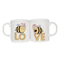 Köstebek Bee Lo-Ve Sevgili Kupa