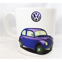 Köstebek Volkswagen Beetle Mavi Kupa