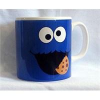 Köstebek Cookie Monster Kupa