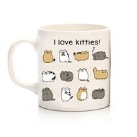 Köstebek I Love Kitties Kupa