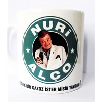 Köstebek Nuri Alço Coffe Kupa
