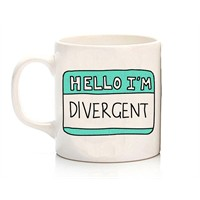 Köstebek Hello I'm Divergent Kupa