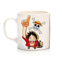 Köstebek One Piece - Luffy Kupa
