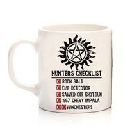 Köstebek Supernatural - The Family Business Hunter Checklist Kupa