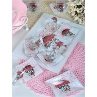 Keramika Çay Seti Cam 14 Prc Pink Love