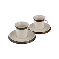 Emsan Elegance 6'Lı Kahve Fincan Takımı Kahverengi