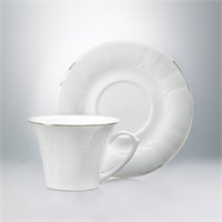 Emsan Kuğu Platin 6'Lı Kahve Fincan Seti