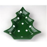 Limbo Home Seramik Çam Çam Çerezlik-14*15 cm-Yeşil