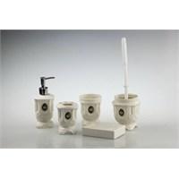 New Bath Porselen Banyo Seti 5 Parça Yuvarlak