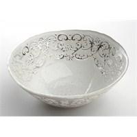 Fidex Home Beyaz Gümüş Çerezlik 15cm