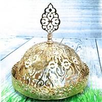 Evo Hürrem Aynalı Altın Rengi İkramlık
