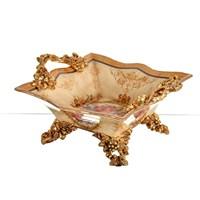 Lucky Art Krem Gold Şekerlik - Fx 052