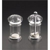 Metaltex Akrilik Tuzluk ve Karabiber Değirmeni 10 cm