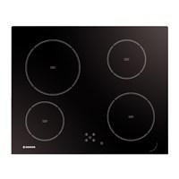 Hoover HVD 640 C 4 Gözü Vitroseramik Siyah Cam Ankastre Ocak