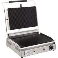 Remta Cam Yüzeyli Oluklu Tost Makinası Elektrikli 20 Dilim