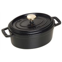 Staub Cocotte Oval 15 Cm Siyah Tencere