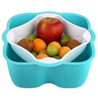 Buffer Joly Süzgeçli Meyve Kasesi Çöp Hazneli